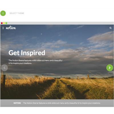 Crea il tuo sito web in cloud